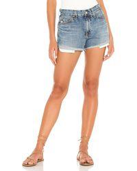 AG Jeans Turner ボーイフレンドショートパンツ - ブルー