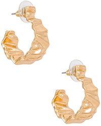 Amber Sceats Textured フープ - メタリック