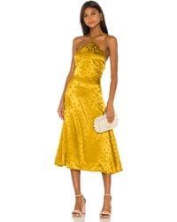 LPA Tasha Dress - Yellow