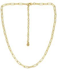 BaubleBar Ожерелье Hera В Цвете Золотой - Металлик