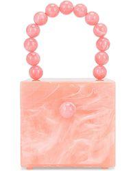 Cult Gaia Eos Box Bag - Pink