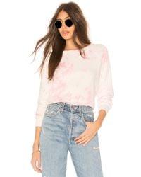NSF - Carolina Pullover In Pink - Lyst