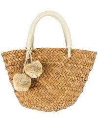 Kayu Mini St Tropez Bag - White