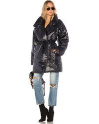 Norma Kamali Sleeping Bag Coat To Knee - Black