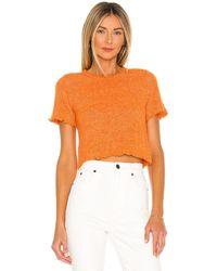 Tach Clothing Pegasus Knit Top - Orange