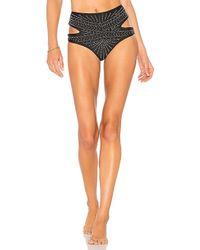 Beach Riot - Whitney Bikini Bottom In Black - Lyst