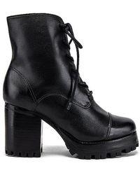 Schutz Lace Up Boot - Black