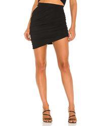 h:ours Diane Mini Skirt - Black