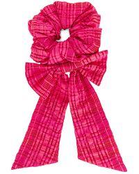 Lovers + Friends Maeva Scrunchie - Pink
