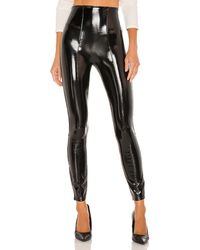 Spanx - Leather レギンス - Lyst