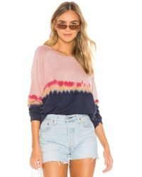 Velvet By Graham & Spencer Jamie Pullover - Pink