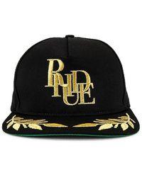Rhude Podium Hat - Black
