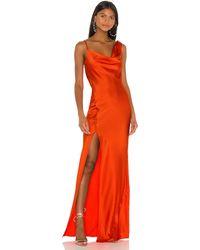 Jay Godfrey Justine Dress - Orange