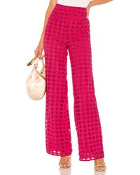 Lovers + Friends Haley Pant - Pink