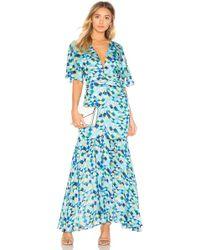 House of Harlow 1960 X Revolve Savana Dress - Blue
