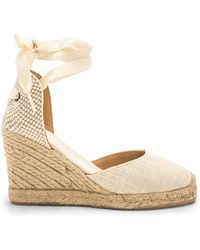Soludos Tall Wedge - Natur