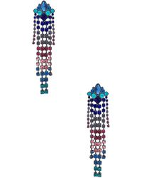 f8f29174d Rebecca Minkoff Fringed Drop Earrings - Lyst