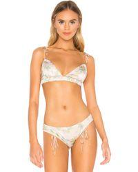 14a5f2d693883 For Love   Lemons Ruby Bralette in White - Lyst