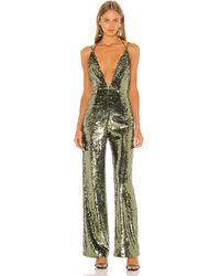 Camila Coelho Callie jumpsuit - Verde