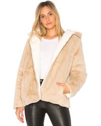 525 America - Vegan Fur Reversible Jacket - Lyst