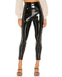 Michael Costello X Revolve Isa Faux Leather Pant - Black
