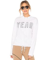 Year Of Ours - Sporting Pullover Hoodie In White - Lyst