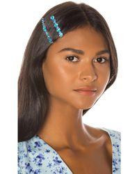 Amber Sceats Lucille Hair Clip Set - Blue