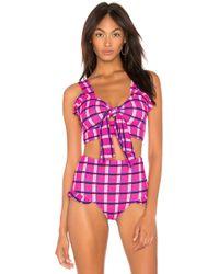 Paper London - Maldives Bikini Top In Pink - Lyst
