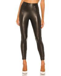 Spanx Like Leather Skinny Pant - Schwarz