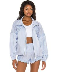Free People X Fp Movement Thanks A Bunch Jacket - Blue
