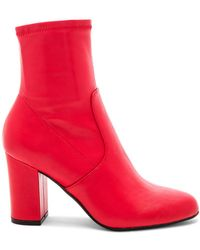 Steve Madden - Actual Bootie In Red - Lyst