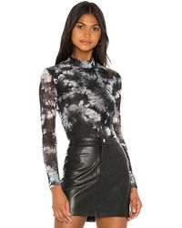 h:ours Monroe Bodysuit - Black