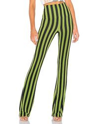 Norma Kamali - Boot Pant In Olive - Lyst