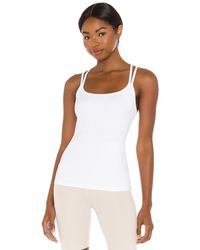 Year Of Ours Skinny Rib Tank - White