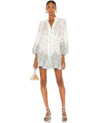 Zimmermann Carnaby Short Dress - White