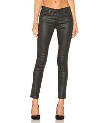 AG Jeans クロップデニム - ブラック