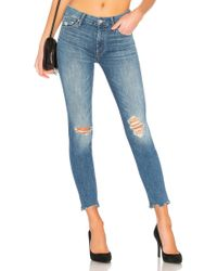 Mother - The Looker Ankle Chew Jean - Lyst
