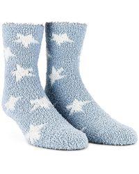Splendid Lounge Socks - Blue