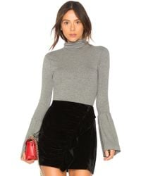 PAIGE - Kenzie Turtleneck Sweater In Gray - Lyst