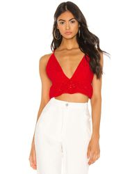 superdown Kylie Babydoll Top - Rot