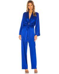 Michelle Mason Kimono ジャンプスーツ - ブルー