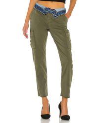 Hudson Jeans Foldover Cargo - Green