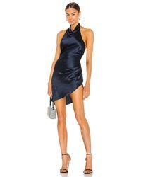 Amanda Uprichard Samba Dress - Blue