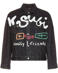 Ksubi Oh G ジャケット - ブラック