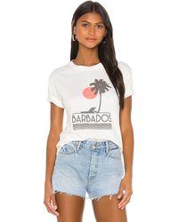 David Lerner Barbados グラフィックtシャツ - ホワイト