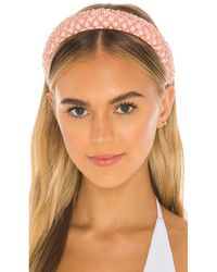 Shashi Lady Guinevere Headband - Pink