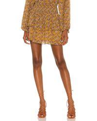 MINKPINK Tarsus Mini Skirt - Orange