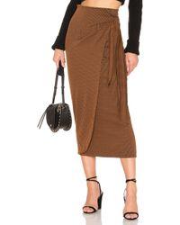 Mara Hoffman Ling Skirt - Braun