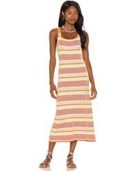 Solid & Striped Kimberly ドレス - オレンジ