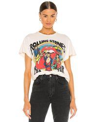MadeWorn The Rolling Stones グラフィックtシャツ - ホワイト